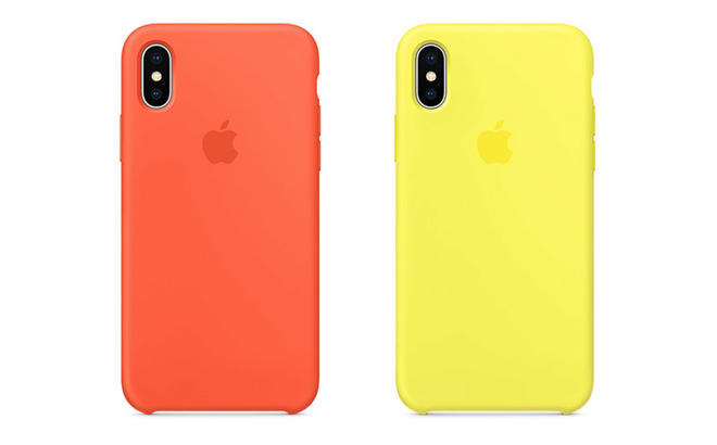 pretty nice b8418 a5f2b Apple debuts new Apple Watch Sport Band and iPhone X silicone case ...
