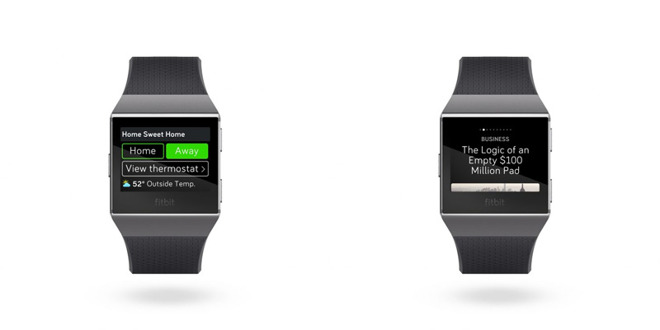 Fitbit begins rolling out more apps & watchfaces for iPhone