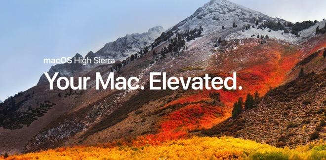 mac os x high sierra compatibility