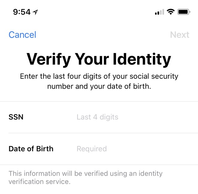 Verify your identity to ensure smooth Apple Pay Cash transactions