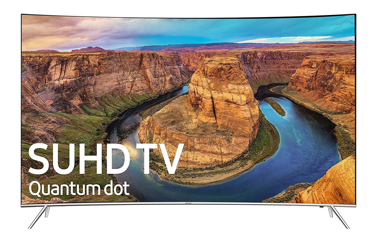Samsung 55 inch SUDH Smart Curved LED 4K TV