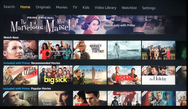First look: Amazon Prime Video for Apple TV launches on tvOS