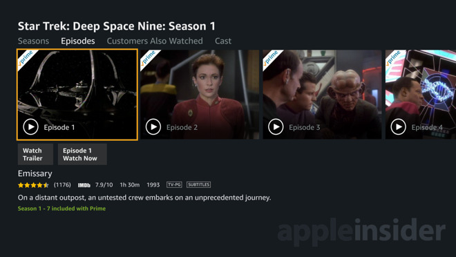 How to use the new Apple TV Amazon Prime Video app with Siri