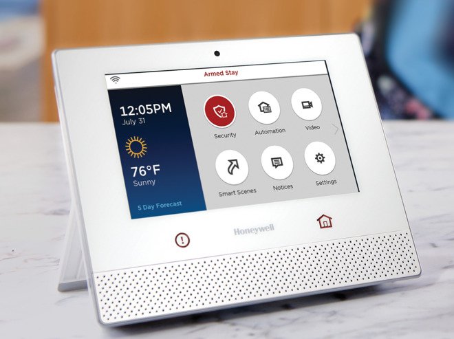 Honeywell Lyric home security firmware update brings Apple
