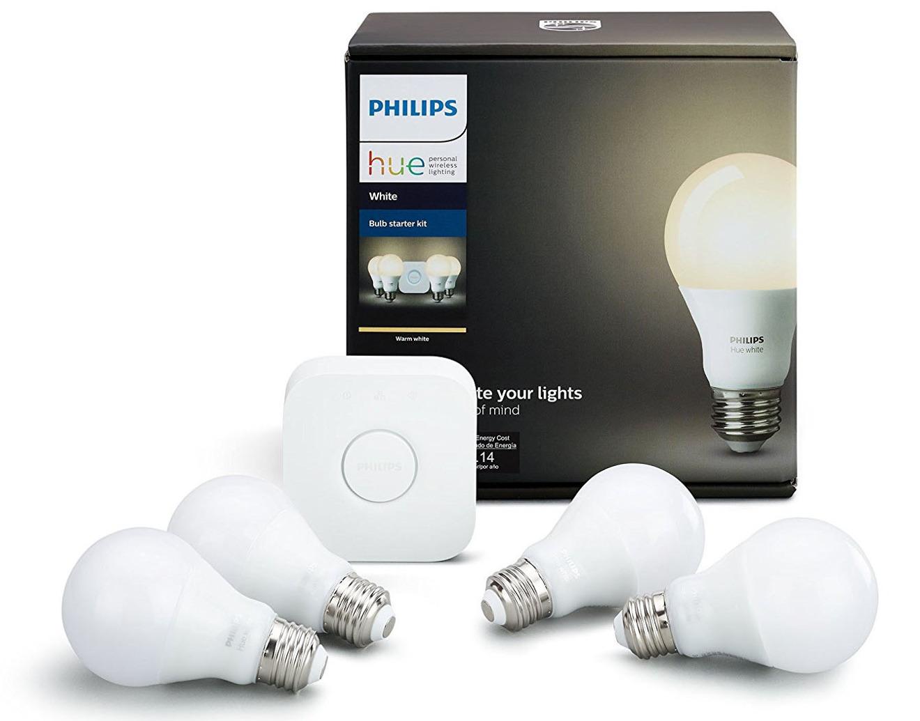 Philips Hue Apple HomeKit Starter Pack with Bulbs
