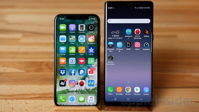 be0d06cd06a Both phones have a really premium feel due to the all metal and glass  construction but I do prefer the build of the iPhone X. The screen is  really nice on ...