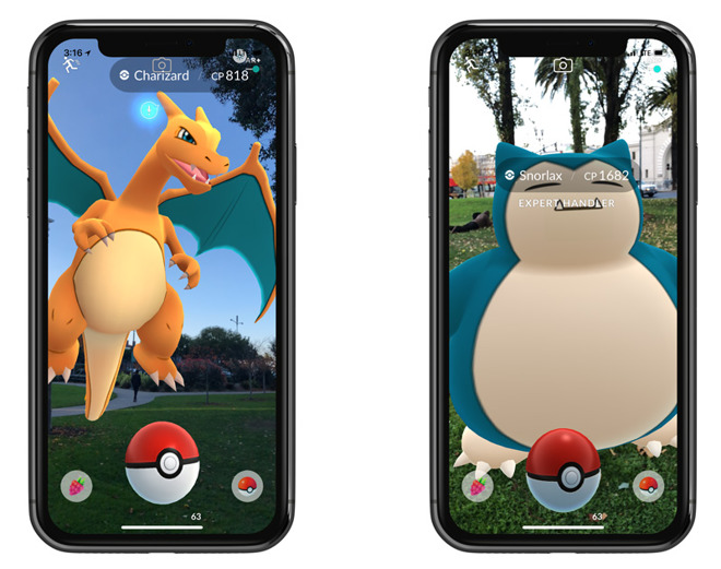 get pokemon on iphone go could get apple arkit support as soon as wednesday 14188