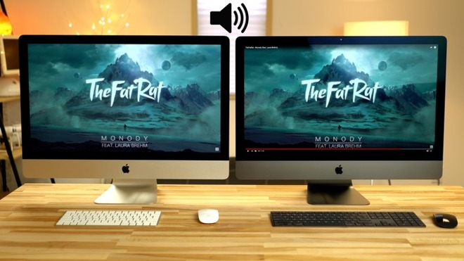 iMac Pro vs  5K iMac, speakers and FaceTime cameras compared