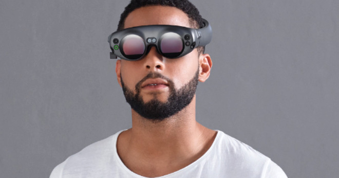 Magic Leap's One Lightwear mixed reality goggles