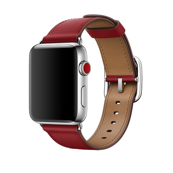 The (Product)Red Classic Buckle.