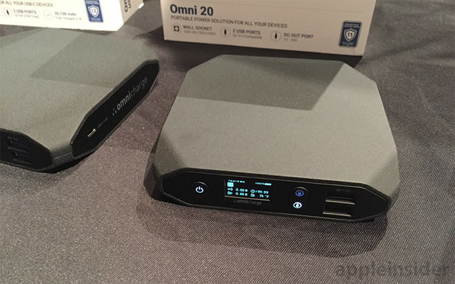 Power up your MacBook Pro on the go with Omnicharge's USB-C