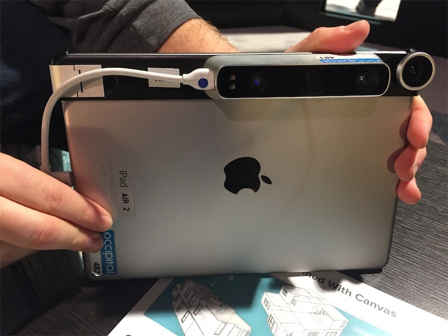 Occipital S Structure Depth Sensor Can Scan Objects In 3d