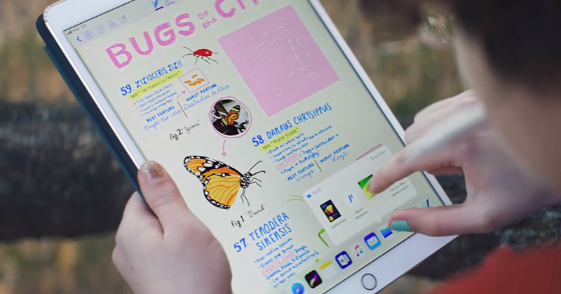 Apple's new iPad Pro ads tout augmented reality & mobile notetaking