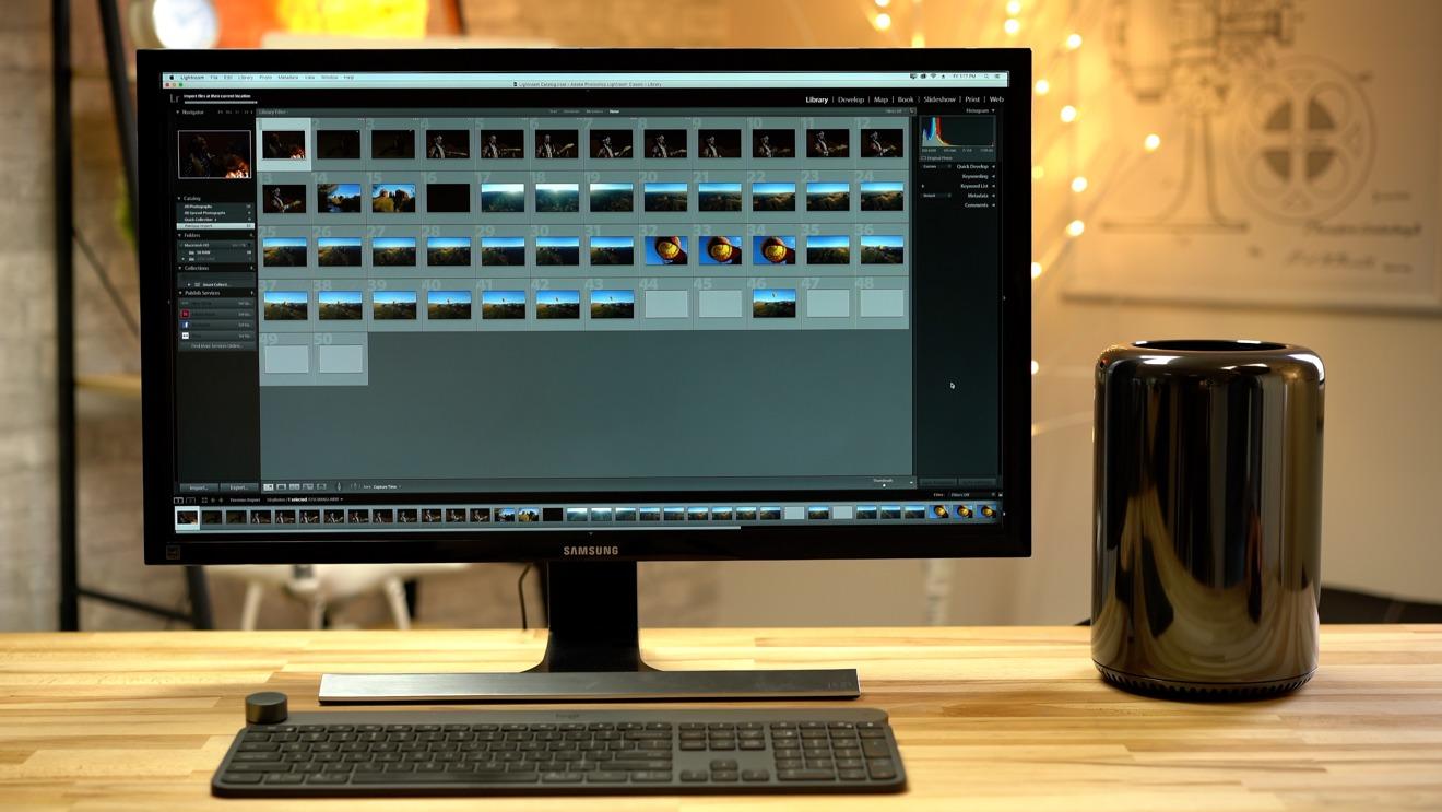Apple 2013 Mac Pro desktop computer