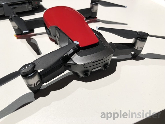 Video: See DJI's iOS-connected, foldable Mavic Air drone in