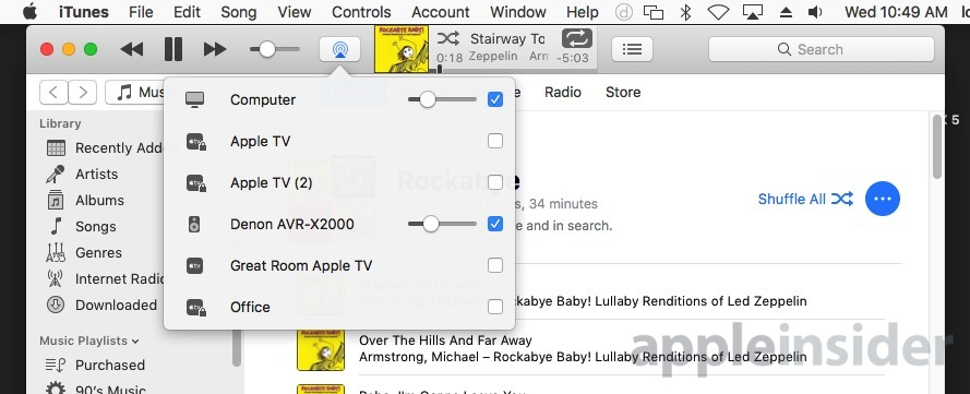 How multiple outputs works in macOS