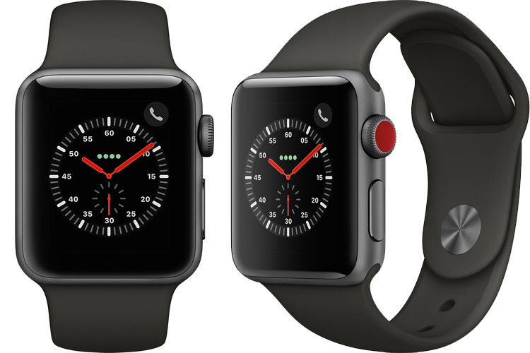Apple Watch Series 3 GPS and Cellular in Space Gray