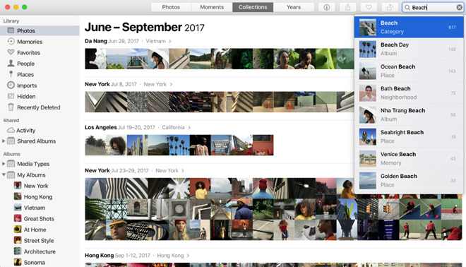 How to delete multiple photos from imac
