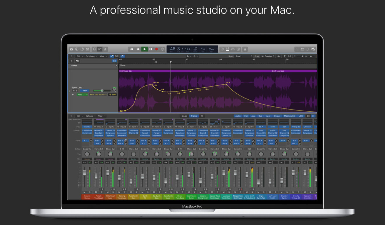 Logic Pro X 10.4 update brings over 2000 new features and bug fixes to  Apple's audio composition app