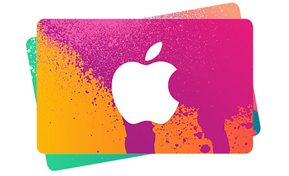 Apple iTunes gift card deal