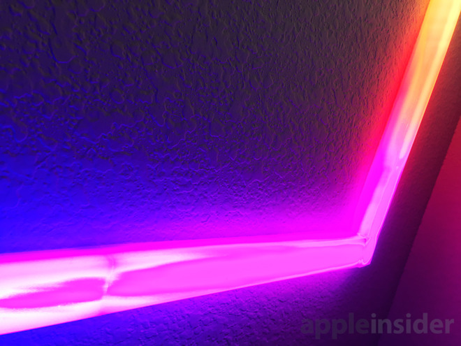 Review Lifx Beam With Le Homekit Is A Cool Remote