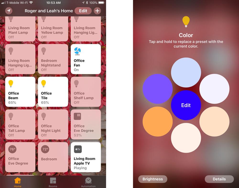 iOS Home app
