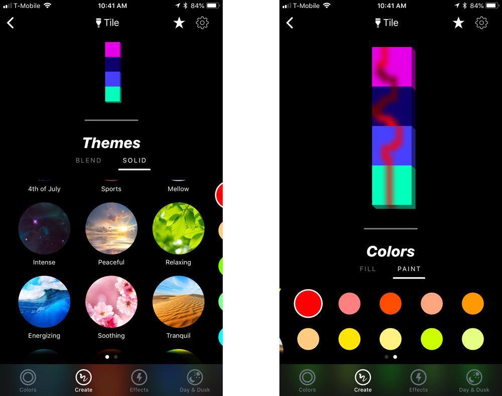 LIFX iPhone app