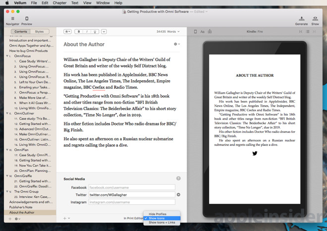 Hands On: Self publish the next great novel with Vellum 2 1
