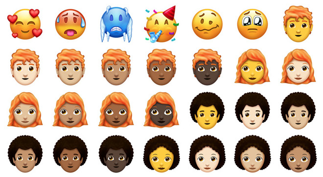 This year's Emoji update finally represents those with red hair