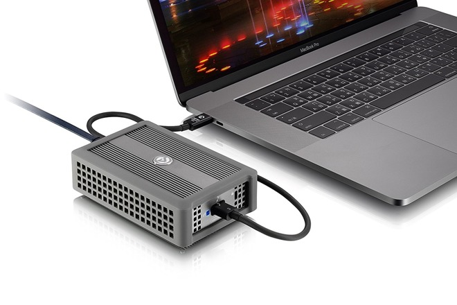 Akitio Thunder3 10G network adapter adds 10 gigabit ethernet