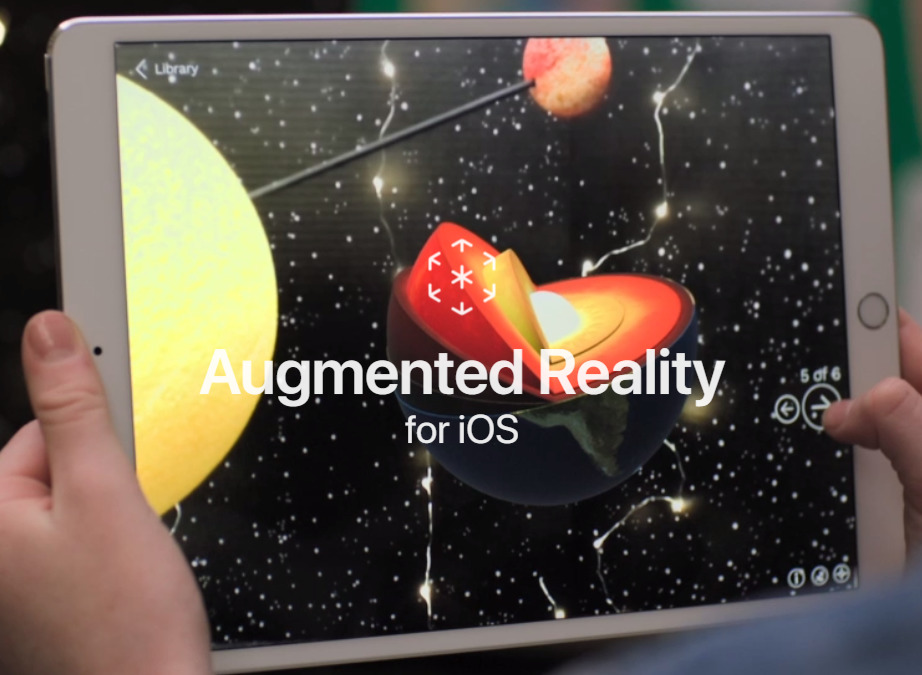 New Apple webpage touts apps & technology for augmented reality on iOS