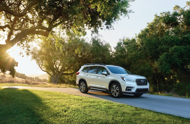Subaru readies 2019 Ascent SUV with Apple CarPlay standard