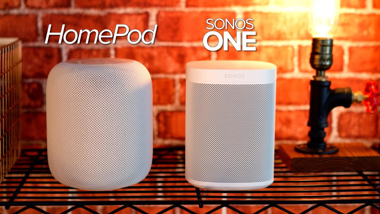 Video: Apple HomePod vs. Sonos One