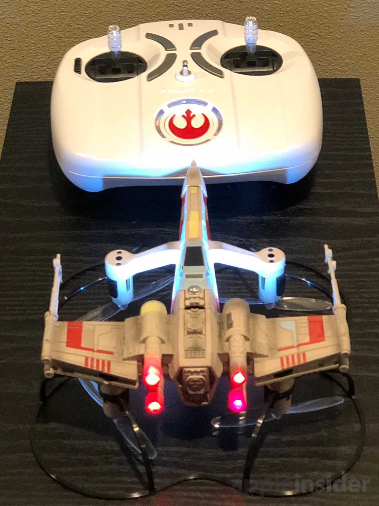 Propel's XT-65 X-Wing Starfighter with controller