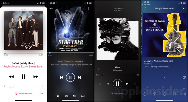 Make spotify default music player iphone