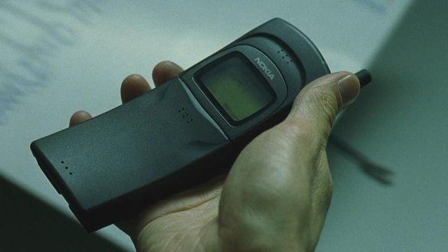 Original Nokia 8110, as seen in 'The Matrix'