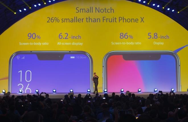 Bonus Notches: Android smartphone vendors copy the striking design