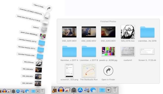 mac move documents folder to dock