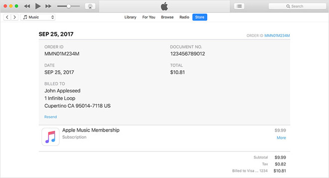Apple itunes store support number