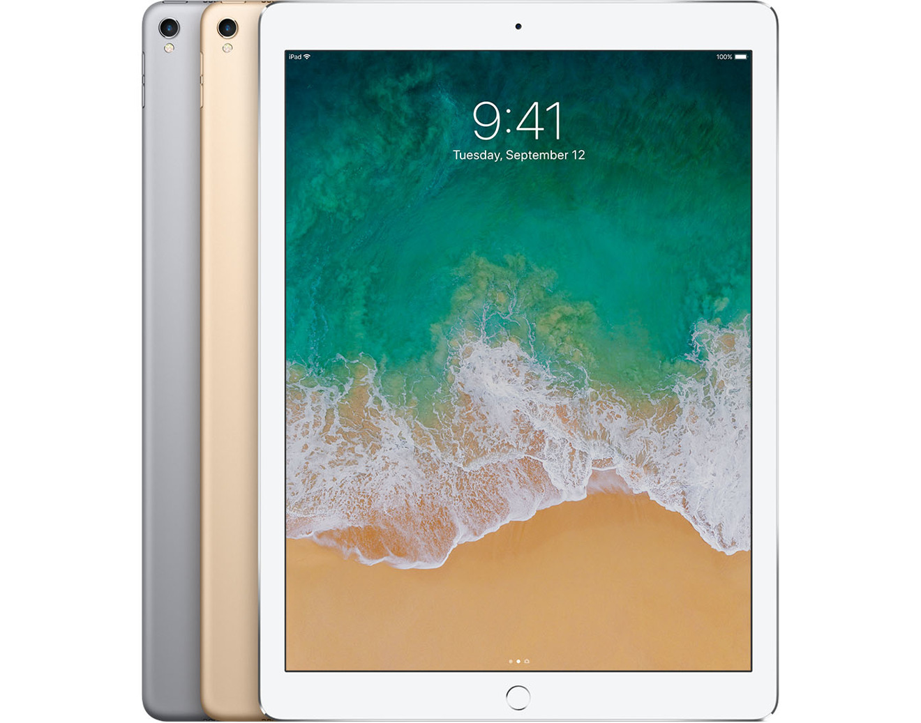 Apple iPad Pro in Silver Space Gray and Gold
