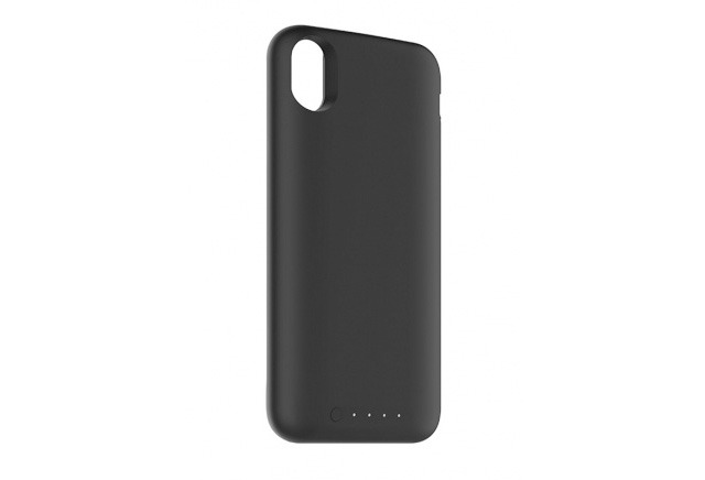mophie at work on qi certified battery charging case for apple 39 s iphone x. Black Bedroom Furniture Sets. Home Design Ideas