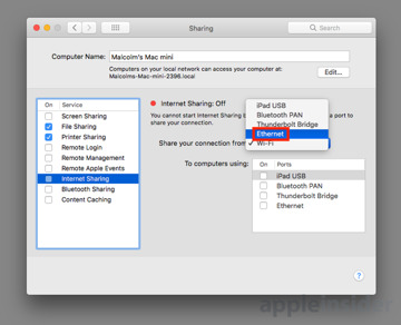 How to extend your wireless network by turning a Mac into a