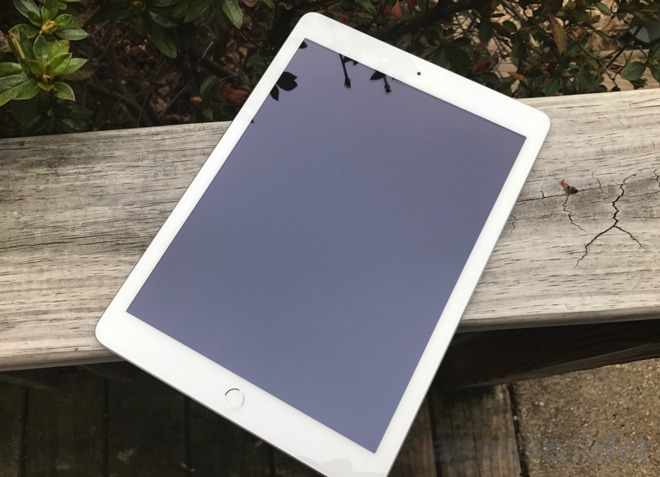 Fifth generation iPad from 2017