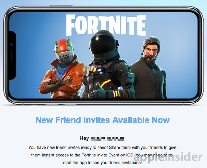 If You Want A Fortnite Invite For Your Iphone Hit Up Your Friends