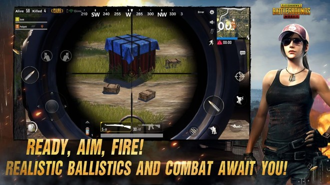 Tencent's version of PlayerUnknown's Battlegrounds reaches