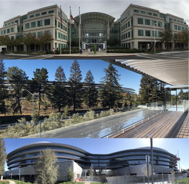 Photos: Apple's secretive race for new Silicon Valley office