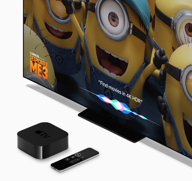 Apple releases tvOS 11 3 for Apple TV with new filtering