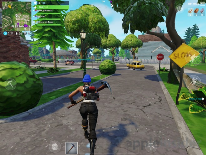 Review: Fortnite BattleRoyale for iOS brings the large-scale