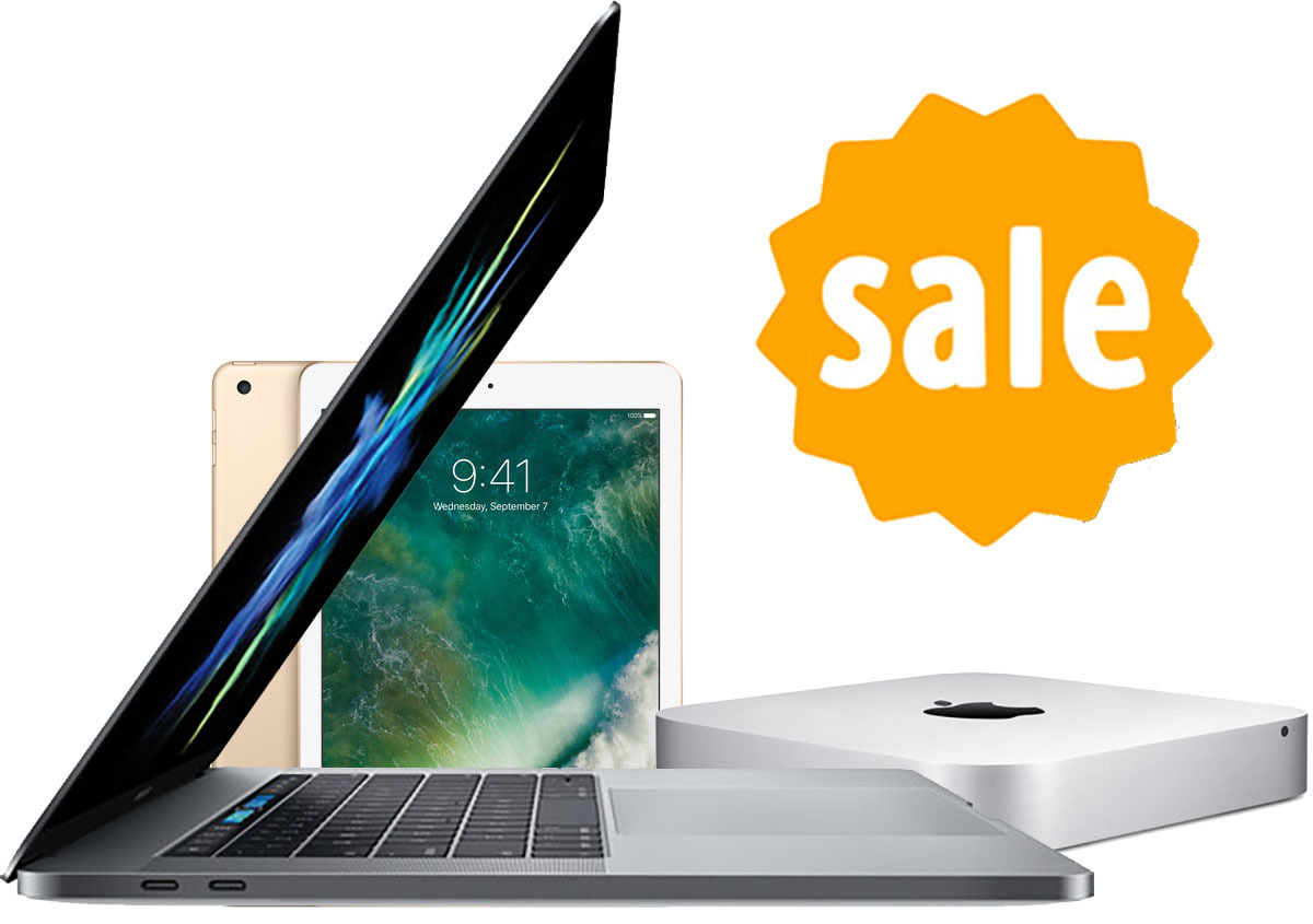 "Macs and iPads are on sale for under $400, plus $250 off Apple's top of the line 2017 15"" MacBook Pro"