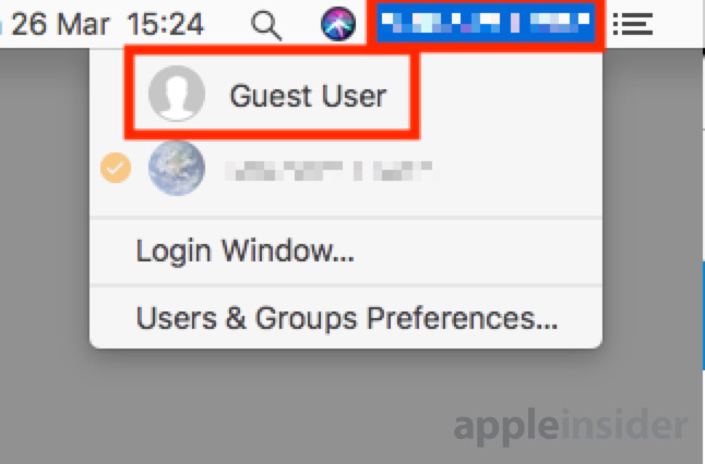 How to keep your Mac data secure from visitors by using Guest Accounts